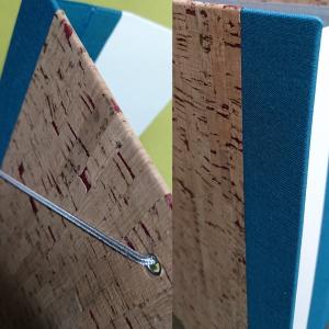 Mappe Kork-Gewebe mit Gummizug